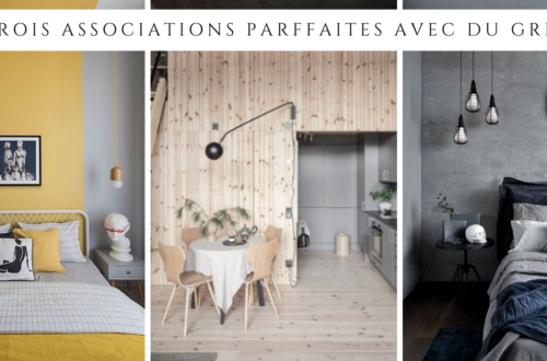 Trois associations parfaites avec du gris