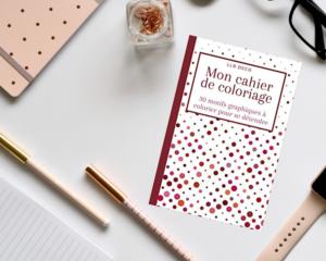 Cahier de coloriage motif cercle