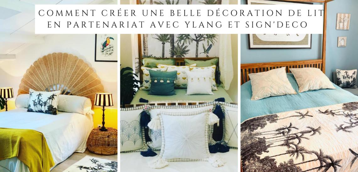 La décoration de chambre passe aussi par une belle décoration de lit