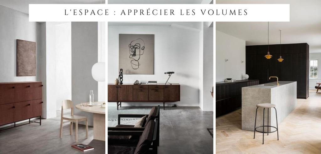 Le style minimaliste : apprécier l'espace et le volume
