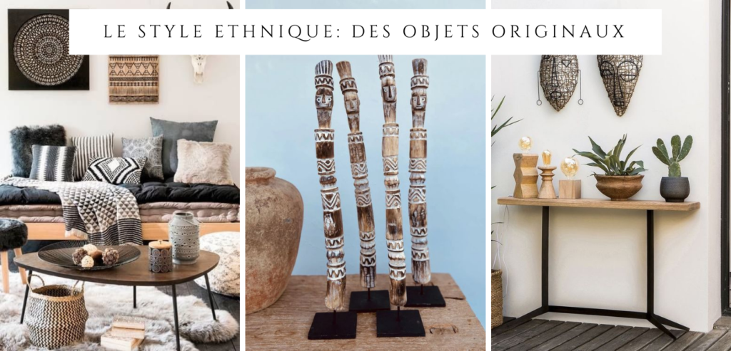 Les objets originaux