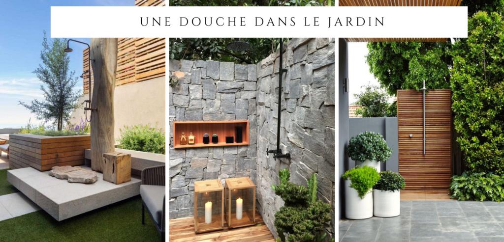 3 espaces détente dans le jardin